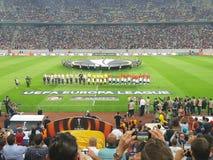 Nationell Arena Bucharest royaltyfria bilder