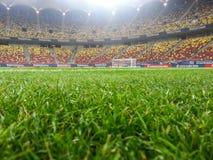Nationell arenastadion från Bucharest Arkivbild