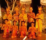 Nationell balinesedans, Balinesedansare Arkivbild