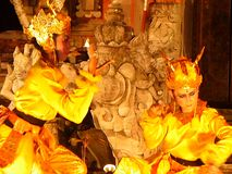 Nationell balinesedans, Balinesedansare Fotografering för Bildbyråer