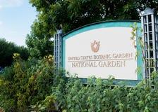 Nationell botanisk trädgård för Förenta staterna i Washington DC Arkivbilder