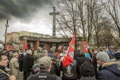 Nationell dag av minnet av de förbannade soldaterna Royaltyfri Foto