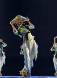 Nationell dansflicka Royaltyfri Bild