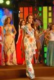 Nationell dräkt för Miss indonesia Arkivfoto