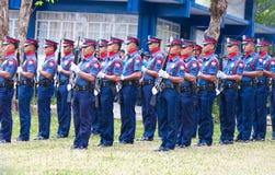 nationell filippinsk polis Arkivbilder
