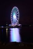 Nationell hamn Ferris Wheel royaltyfri foto