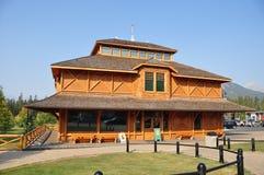Nationell historisk lokal för Banff Parkmuseum av Kanada Royaltyfria Foton