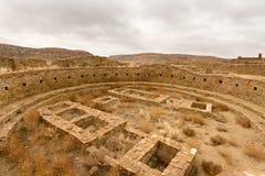 Nationell historisk Park för Chaco kultur Arkivbild