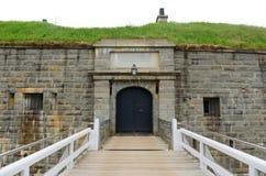 Nationell historisk plats för citadell, Halifax, NS, Kanada Royaltyfri Bild