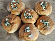 Nationell kokkonst av Ukraina, stekt bröd royaltyfria foton