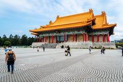 Nationell konserthall på Chiang Kai-shek Memorial Hall, Taipei, Taiwan royaltyfri foto