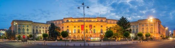 Nationell konstmuseum Bucharest arkivbild