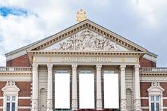 Nationell korridor för musikkonsertexpositon i Amsterdam arkivfoton