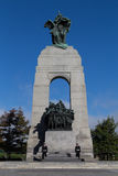 Nationell krigminnesmärke av Kanada Arkivbilder