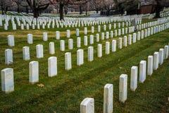 Nationell kyrkogård för Förenta staterna Arkivfoton