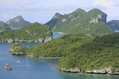 Nationell marin- Park för Ang-Thong, Thailand Royaltyfria Foton
