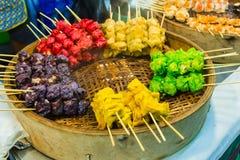 Nationell maträtt som är populär i många andra sydostliga asiatiska länder  Royaltyfria Foton