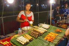 Nationell maträtt som är populär i många andra sydostliga asiatiska länder Sa Fotografering för Bildbyråer