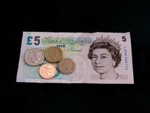 Nationell minimilön £6.31 för UK Fotografering för Bildbyråer