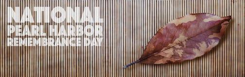 Nationell minnedag för pärlemorfärg hamn Arkivfoton
