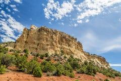 Nationell monument för dinosaurie, Colorado Arkivfoto