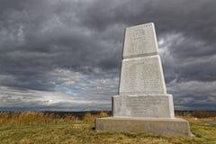Nationell monument för Little Bighornslagfält royaltyfria bilder
