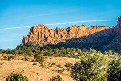 Nationell monument för Navajo fotografering för bildbyråer