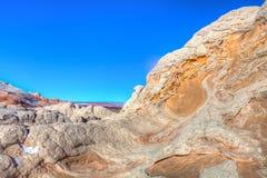 Nationell monument för vita Fack-Vermillion klippor Arkivbild