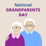 Nationell morförälderdag Arkivbild