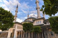 Nationell moské Bestepe Ankara Turkiet arkivfoto