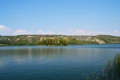 nationell naturpark för kyrklig krka Fotografering för Bildbyråer