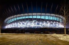nationell ny poland stadion warsaw Arkivbild