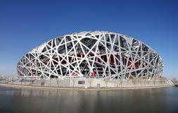 nationell olympic stadion för porslin Royaltyfri Bild