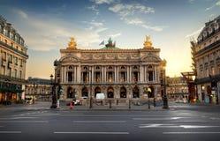 Nationell opera av Paris royaltyfria foton