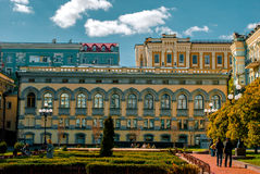 Nationell opera för sight i Kiev, Ukraina Royaltyfri Foto