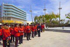 Nationell orkester i Heraklion, Kreta Arkivfoton