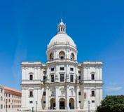 Nationell panteon av Santa Engracia i Lissabon, Portugal Arkivfoton