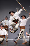 nationell poland för dansmazowsze skådespelartrupp Royaltyfri Foto
