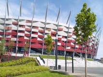 nationell poland stadion warsaw Fotografering för Bildbyråer