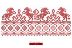 Nationell prydnadbakgrund Royaltyfria Bilder