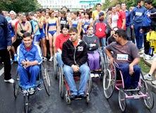 nationell running 2010 för lotteri Arkivbilder