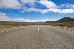 Nationell rutt 40 i nordliga Argentina Royaltyfri Fotografi