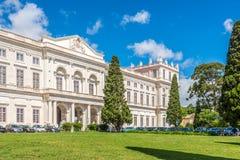 Nationell slott Ajuda i Lissabon - Portugal royaltyfri fotografi