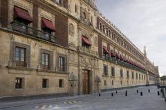 Nationell slott av Mexico - stad arkivbilder
