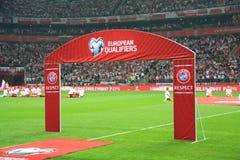 nationell stadion Royaltyfri Fotografi