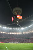 nationell stadion Royaltyfria Foton