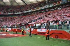 nationell stadion Arkivbild