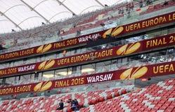 Nationell stadion Stadion Narodowy för Warszawa Royaltyfri Bild