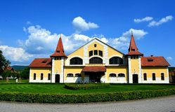Nationell stuteri, Topolcianky, Slovakien royaltyfria foton