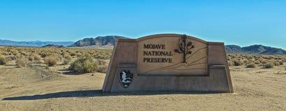 Nationell sylt för Mojave royaltyfri foto